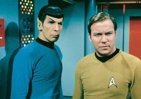 Leonard Nimoy y William Shatner