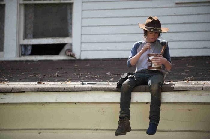 Carl de The Walking Dead