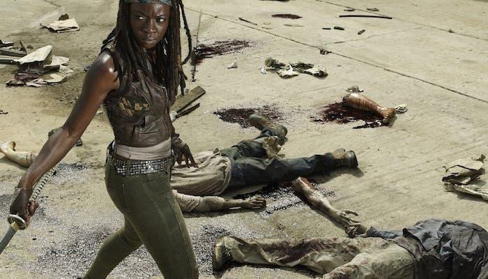 Michonne en The Walking Dead