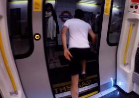 Carrera en el metro