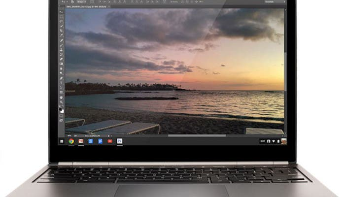 Chrome OS con Photoshop