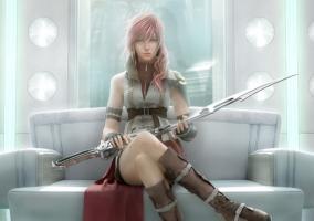 Imagen promocional de Final Fantasy XIII