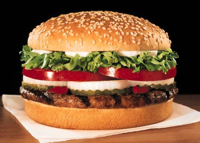 Hamburguesa de Burger King