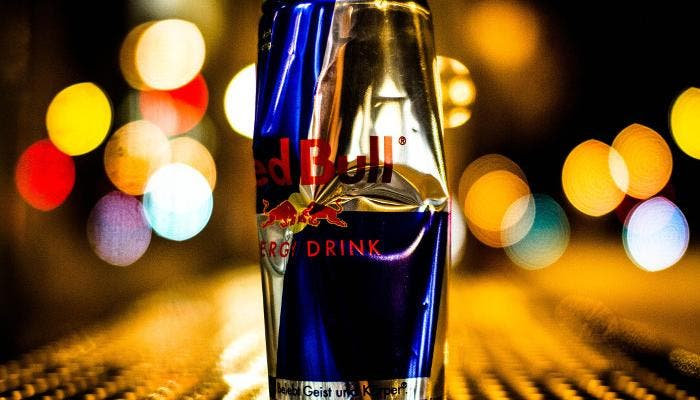 Bote de Red Bull