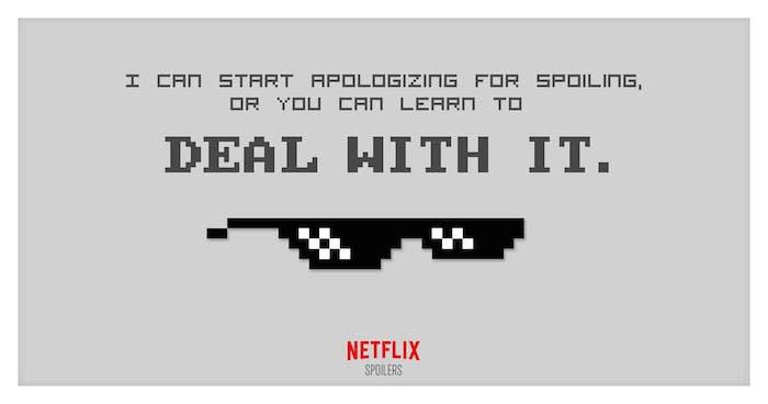 Spoilers de Netflix