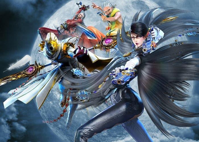 Imagen promocional del videojuego Bayonetta 2