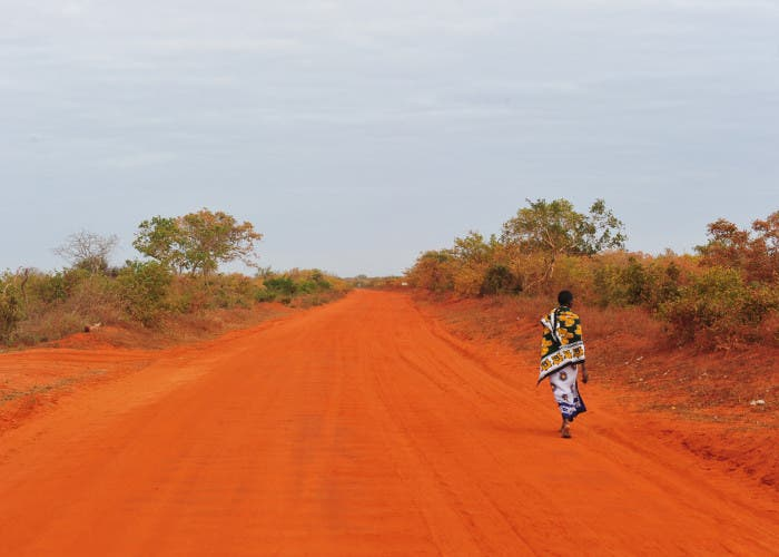 Camino en África