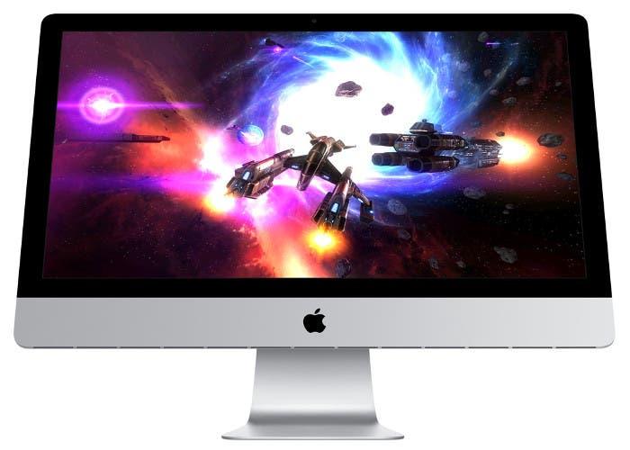 iMac con un juego