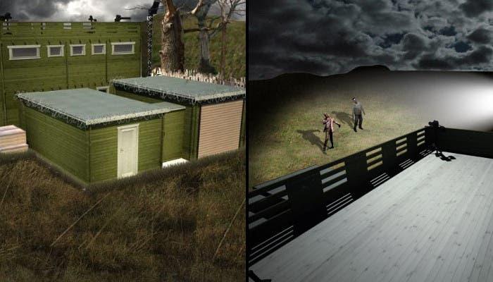 Refugio anti zombies real