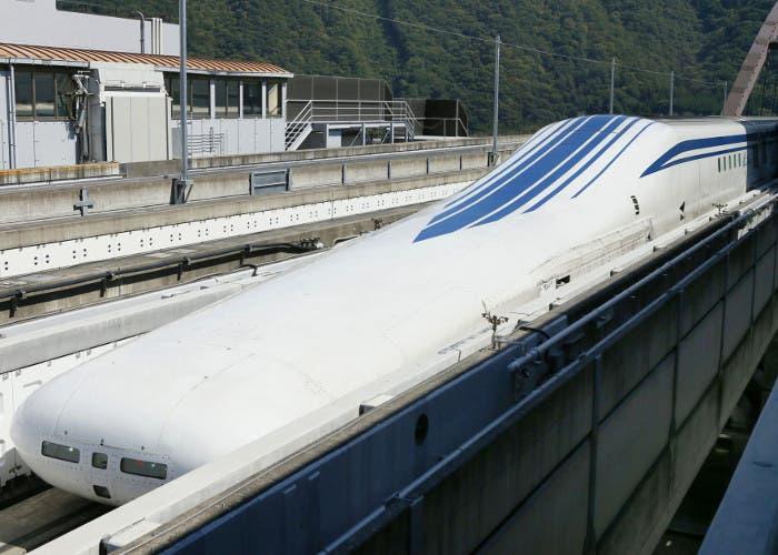 Tren de levitación magnética japonés