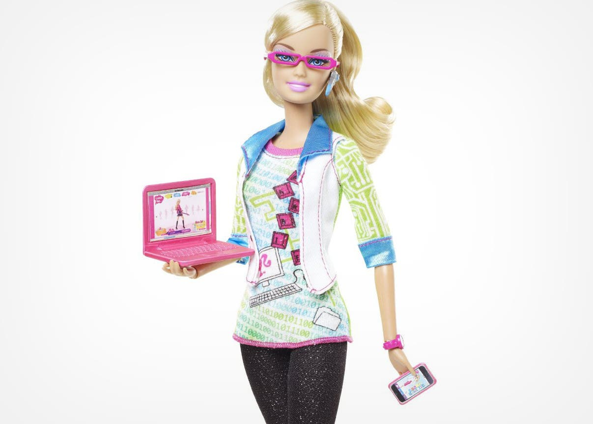 Barbie programadora