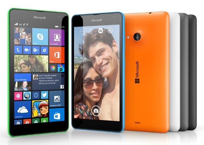 Móvil Microsoft Lumia 535
