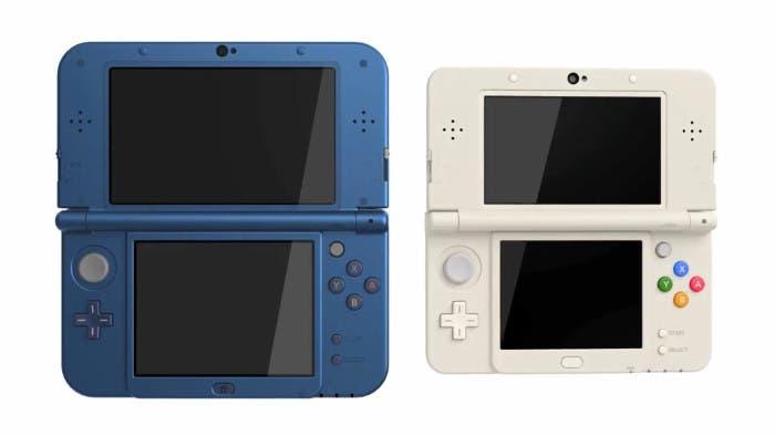Consolas New Nintendo 3DS de frente