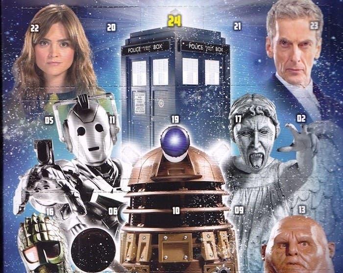 Calendario de adviento Doctor Who