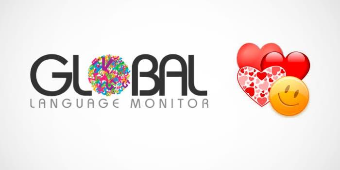 Global Language Monitor Emoji
