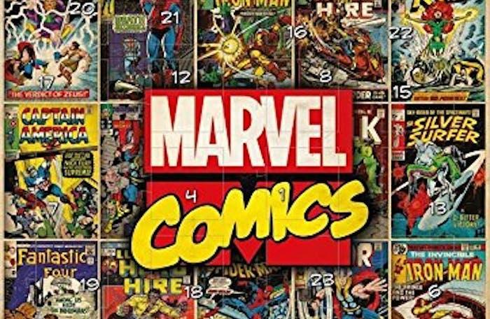Calendario de adviento Marvel