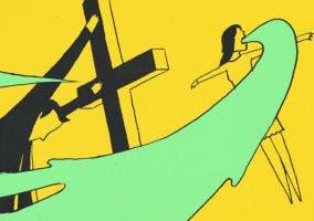 Fotograma del videoclip All Over