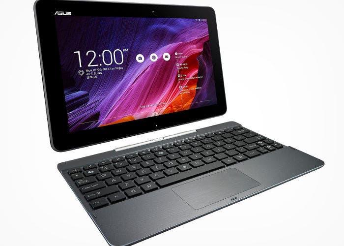 Tablet de ASUS con teclado