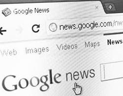 Google News y su página we