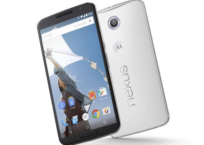 Un smartphone Google Nexus 6