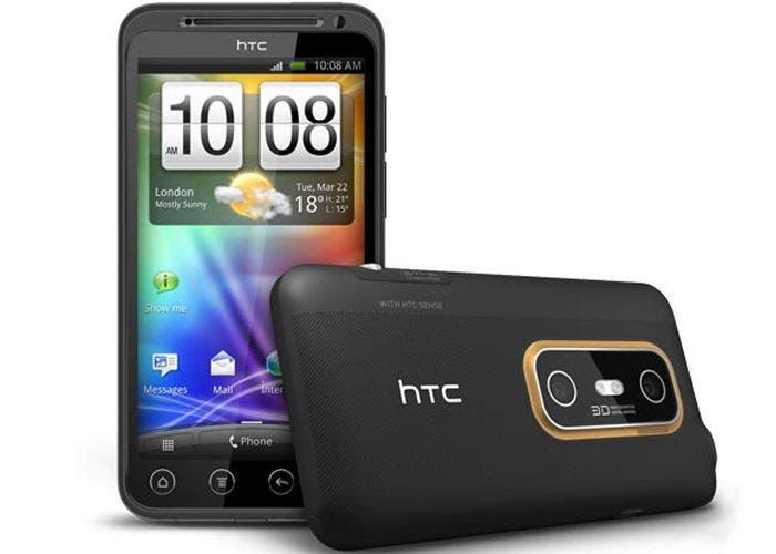 Smartphone 3D HTC Evo 3D