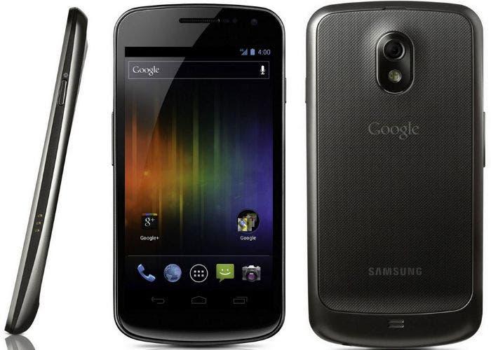 Un smartphone Samsung Galaxy Nexus