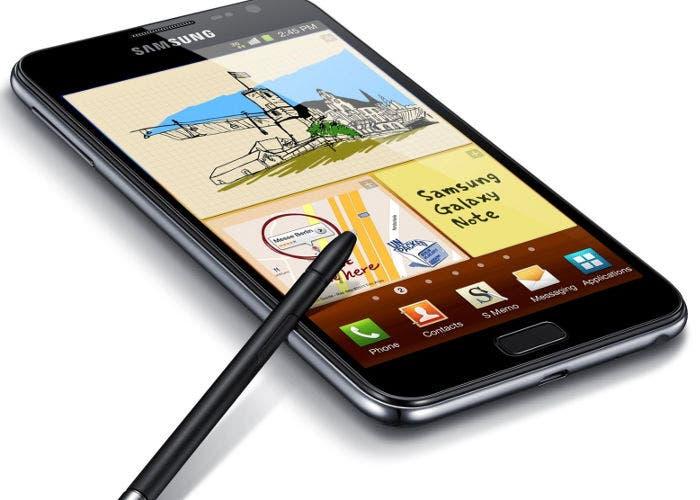 Un smartphone Samsung Galaxy Note