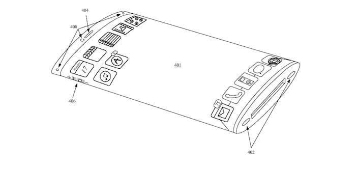 Patente Apple dos pantallas