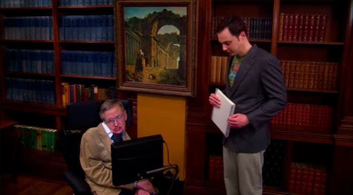 Stephen Hawking TBBT
