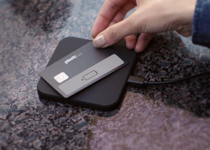 Base cargadora de la tarjeta universal Plastc