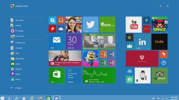 Modo Continuum de Windows-10
