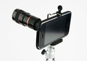 iphone con accesorios