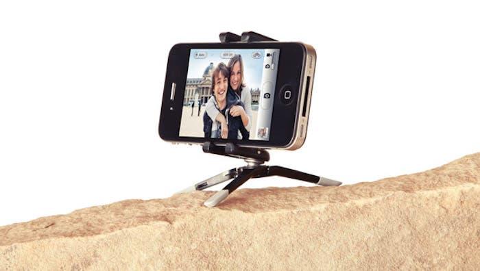 trípode para smartphone