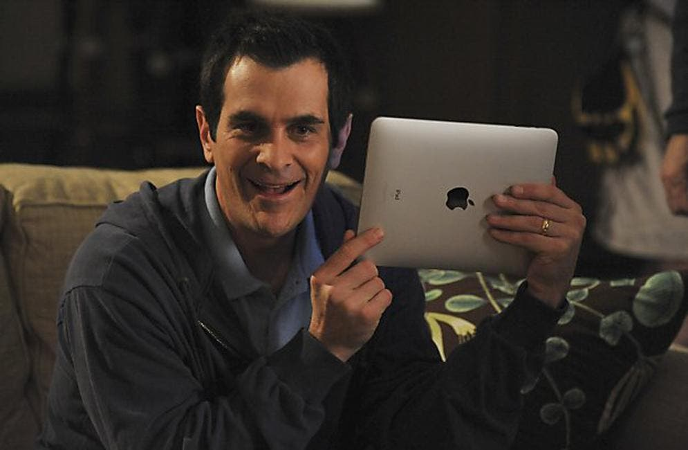 Modern Family iPad