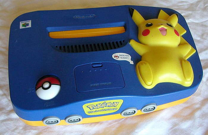 Nintendo 64 pikachu