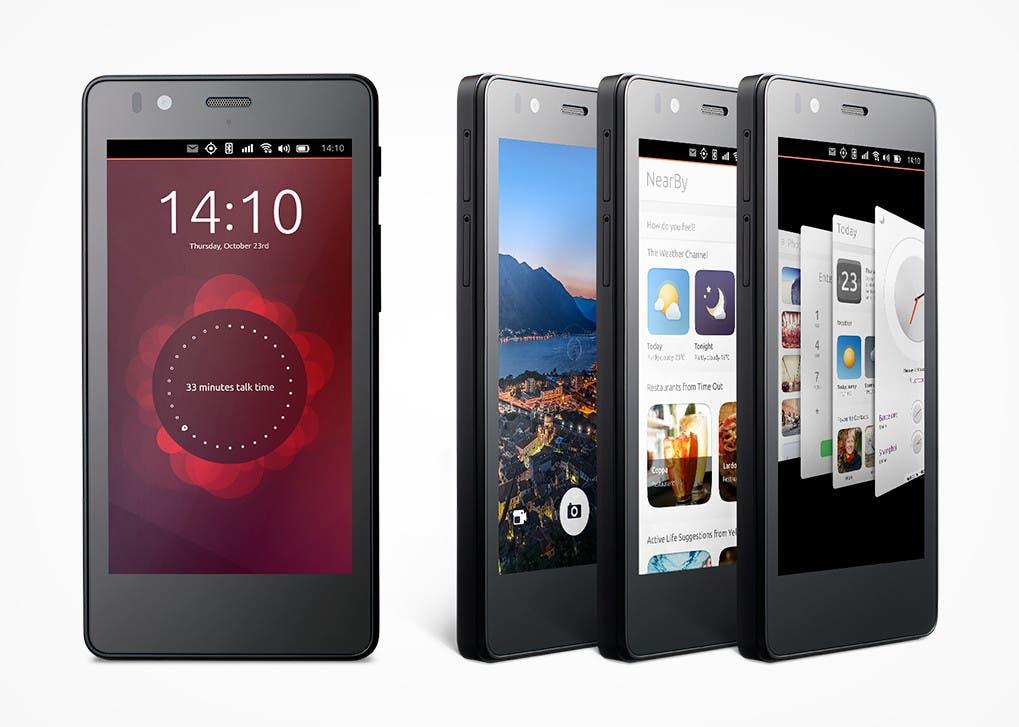 Smartphone bq Aquaris 4.5 Ubuntu Edition