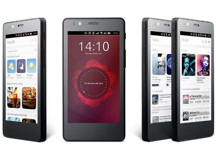 Teléfono bq Aquaris E45 Ubuntu Edition