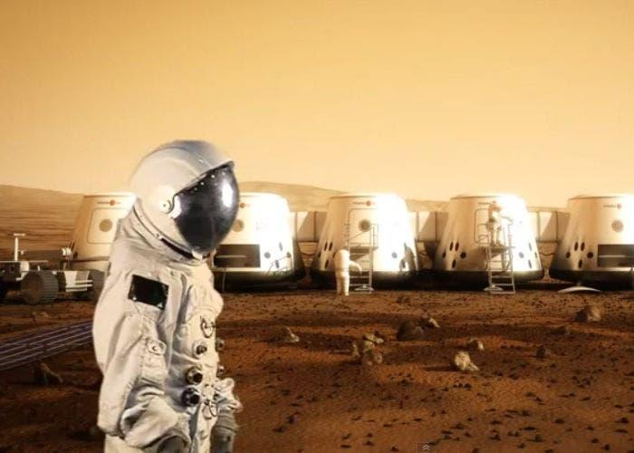 Colonia en Marte