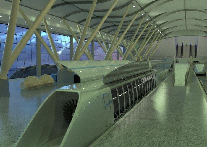 Intercambiador de Hyperloop