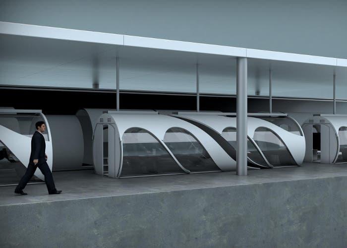 Estación de Hyperloop