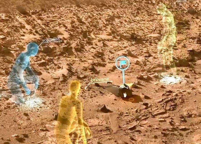 OnSight con HoloLens
