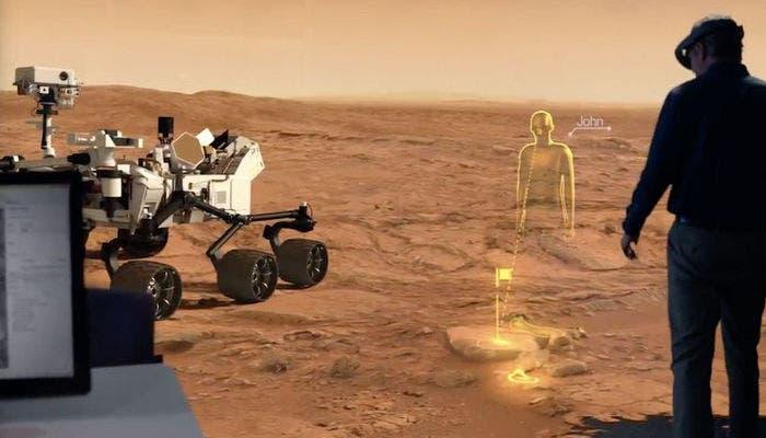 Proyecto OnSight de la NASA