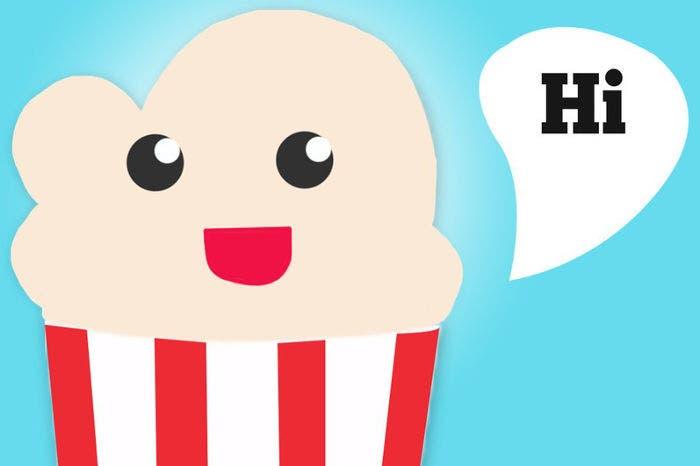 Mascota de Popcorn Time