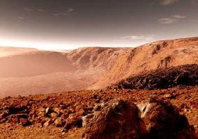 Terreno en Marte