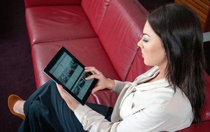 video en una tablet