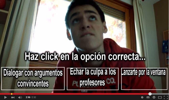 Vídeo interactivo de YouTube