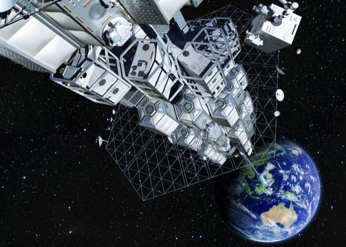 Concepto de ascensor espacial de Obayasi Corporation