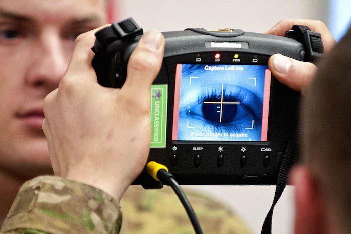 Biometrico ojos
