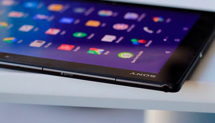 Perfil de la Sony Xperia Z4 Tablet