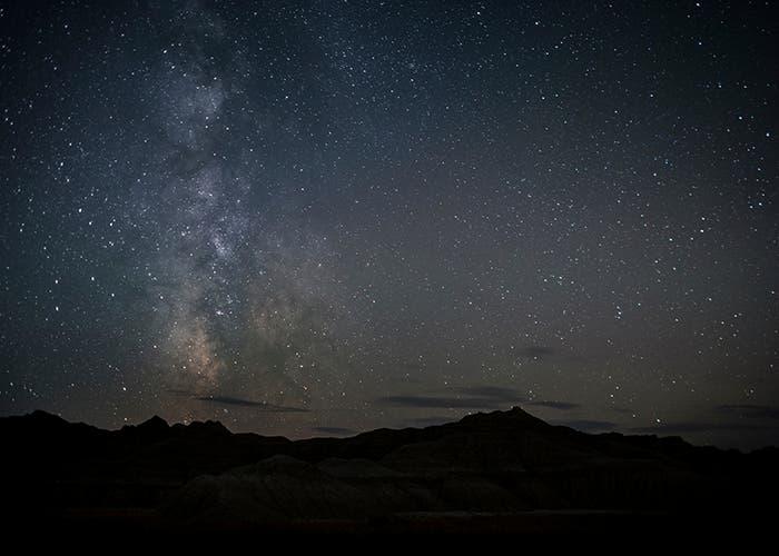 Visión desde la Tierra de la Vía Láctea